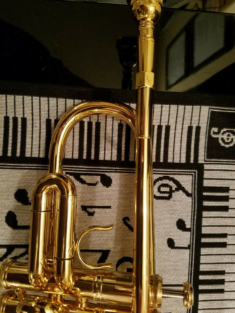 Photo 2002 Getzen Severinsen Gold Plated Trumpet - Almost Mint Condition