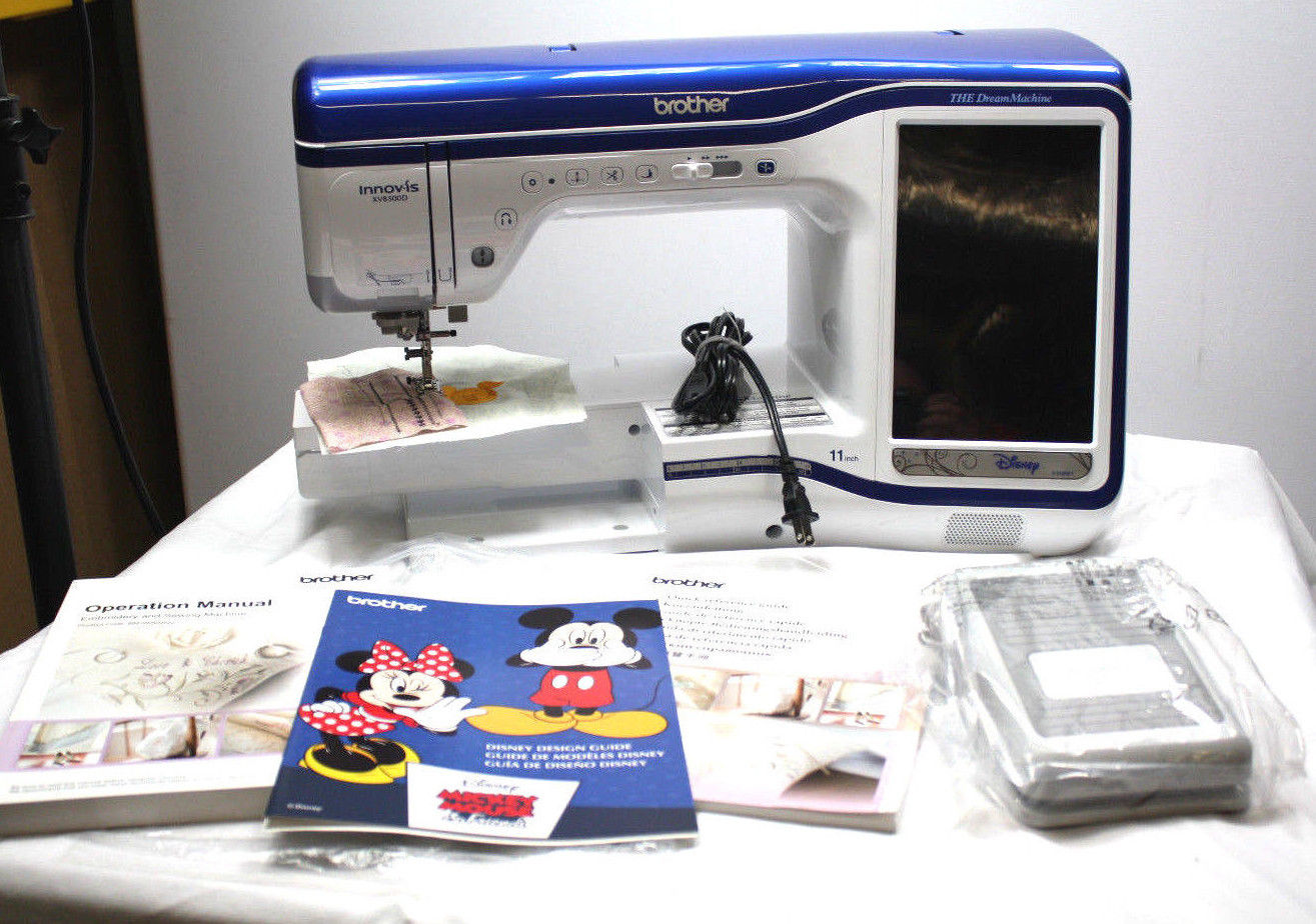 Photo Brother XV8500D The Dream Machine Embroidery  Sewing Machine