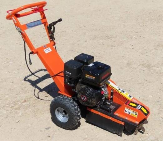 Photo 14 HP KOHLER WALK BEHIND STUMP GRINDER BRAND NEW - $1,800 (BAKERSFIELD)
