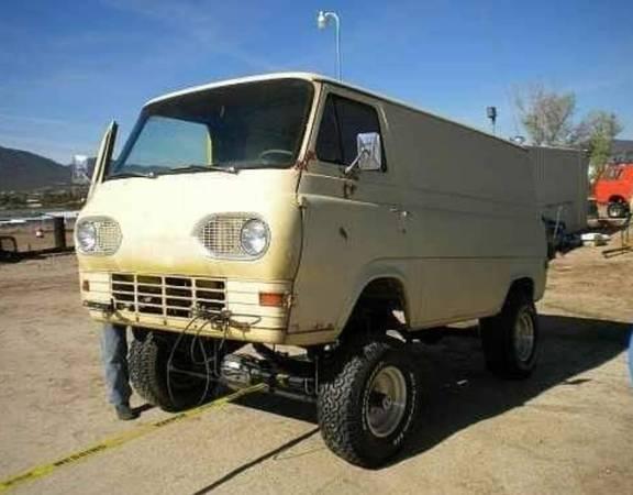 Photo 1964 Econoline Van 4x4 - $3,500