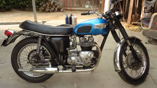 Photo 1969 Triumph Trophy $5500 or Trade fro pre-1975 Jeep - $5,500 (Rosedale)