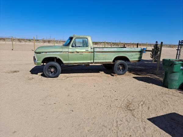 Photo 1973 Ford F250 highboy project truck - $3,000 (Ridgecrest)