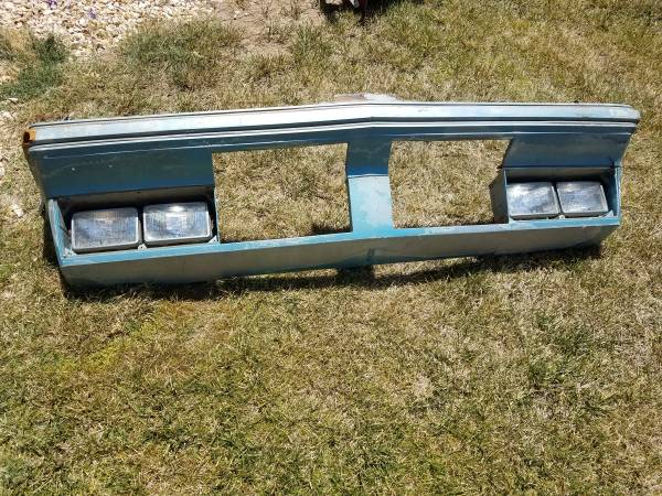 Photo 1985 Oldsmobile Cutlass Supreme Front header - $200 (central valley)