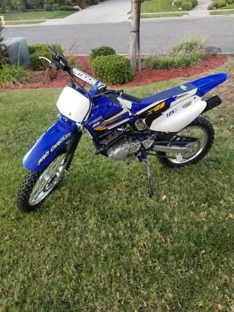 Photo 2002 Yamaha TTR 125 L - $2,100 (Simi Valley)