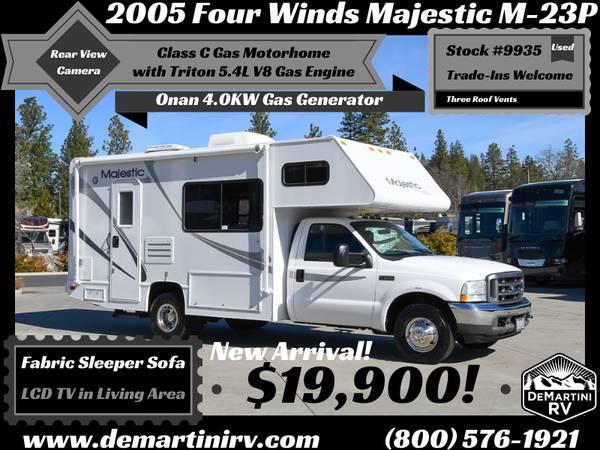 Photo 2005 Four Winds Majestic M-23P Class C Triton 5.4L Gas Motorhome 9935 - $19900 (NEW LISTING)