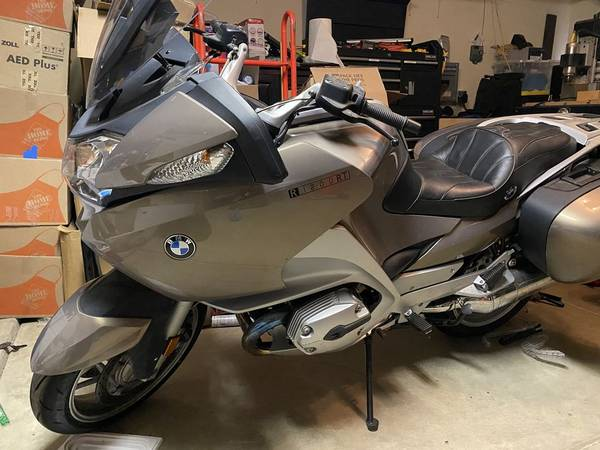 Photo 2008 BMW R1200RT - 4,554 Miles - $6,500 (Bakersfield, CA)