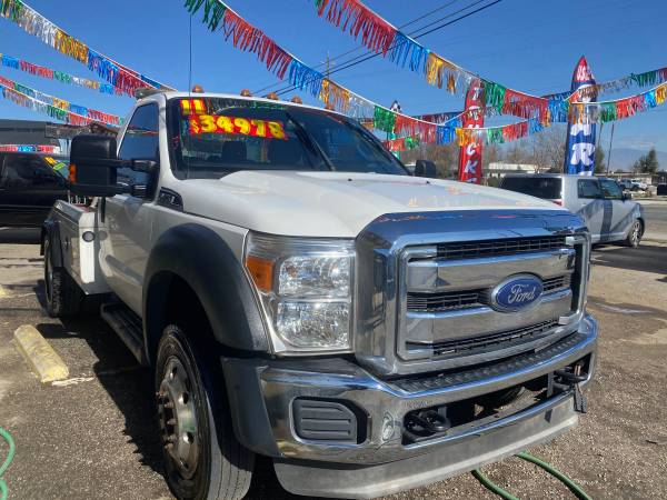 Photo 2012 ford f450 tow truck sweeper - $33,000 (Bakersfield)