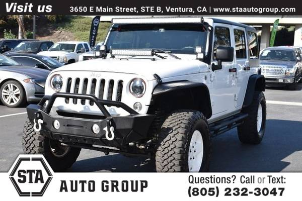 Photo 2014 Jeep Wrangler Unlimited Unlimited Sport SUV 4D - $24991 (Easy Financing  Trade-Ins Welcome)