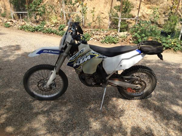 Photo 2014 KTM 500 exc dual sport - $7,750 (Wofford Heights)