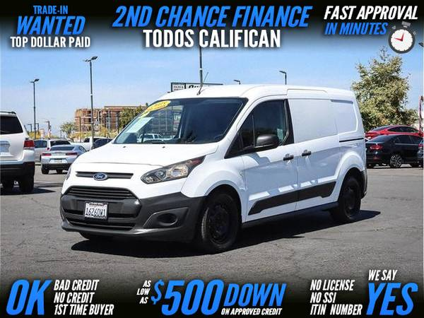 Photo 2015 Ford Transit Connect Cargo XL Van 4D (- $500 Down Payment oac 2nd CHANCE FINANCE)