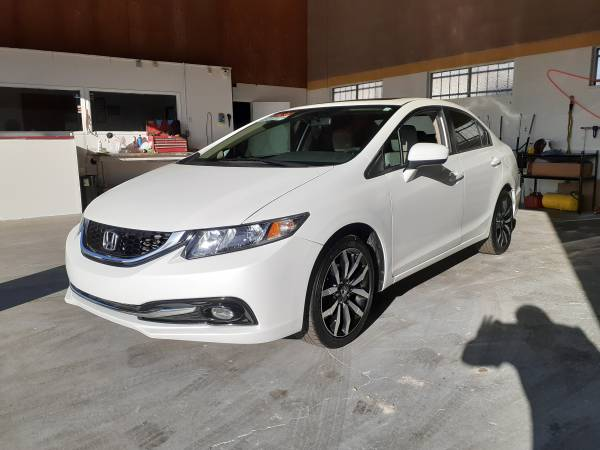 Photo 2015 Honda Civic EX-L Priced below Kelley blue Book - $13500 (Bakersfield)