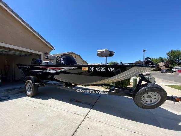 Photo 2018 Crestliner Bass Boat - $14,000 (Wasco)