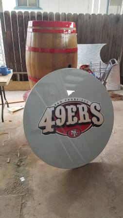 Photo 49ERS PATIO TABLE - $600 (NOR)