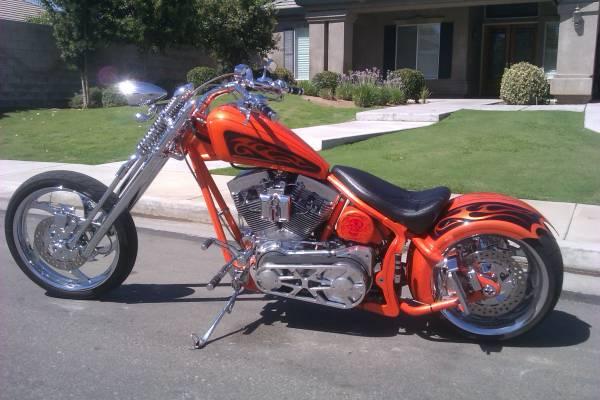 Photo BAD A$$ PRO STREET CHOPPER - $18500 (Bakersfield)