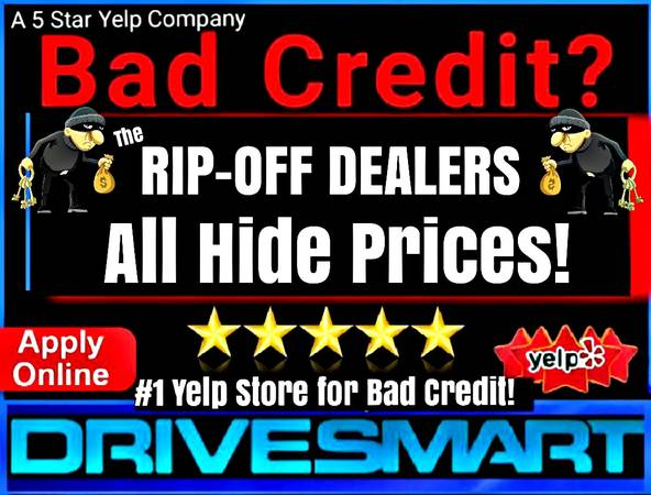 Photo BAD CREDIT DEALERS HIDING PRICES is ILLEGAL REPORT SCAMMERS - $9,997 (CREDIT PROBLEMS CALL THE 1 YELP DEALER 562-340-0150)