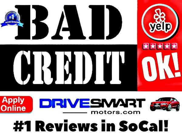 Photo BAD CREDIT NO CREDIT  HERE39S WHERE EVERYONE GOES 1 YELP STORE - $9,997 (CREDIT PROBLEMS CALL THE 1 YELP DEALER 562-340-0150)