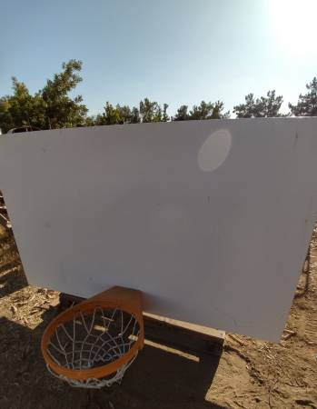 Photo Commercial Basketball Hoops and Backboards - $300 (Bakersfield)