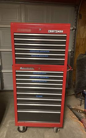 Photo Craftsman Tool Box on Wheels - $350 (Ridgecrest)