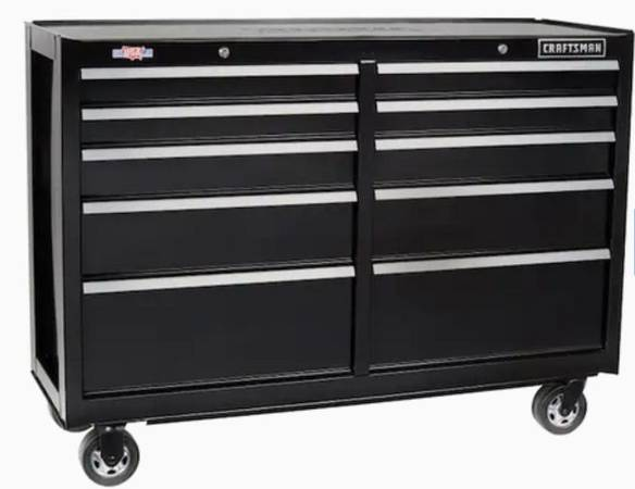 Photo Craftsman rolling tool chest  workbench - $300 (Bakersfield)