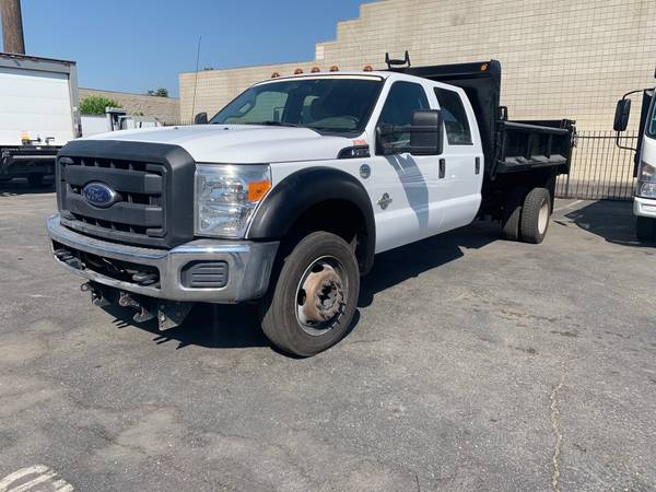 Photo DUMP 2013 FORD F450 CREW CAP XL - $29,900 (CITY OF INDUSTRY)