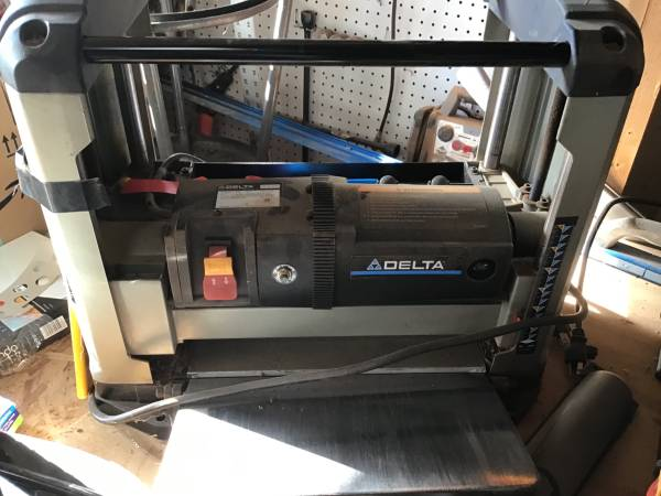 Photo Delta 12 planer with new blades SOLD - $100 (Bakersfield)