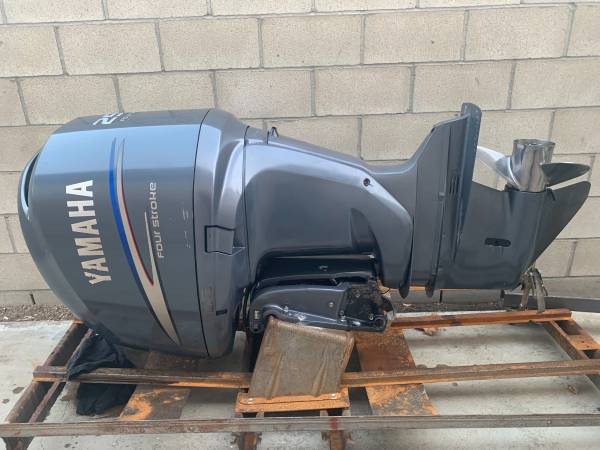 Photo F250 Yamaha four stroke outboard - $6,500 (Shafter)