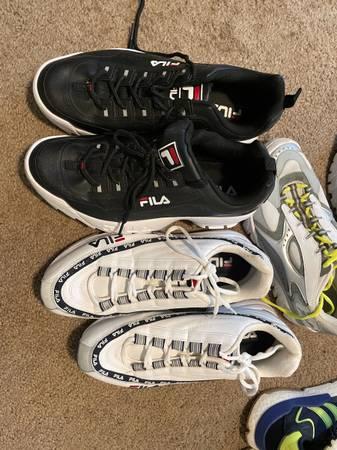Photo Fila shoes mens size 11 - $25