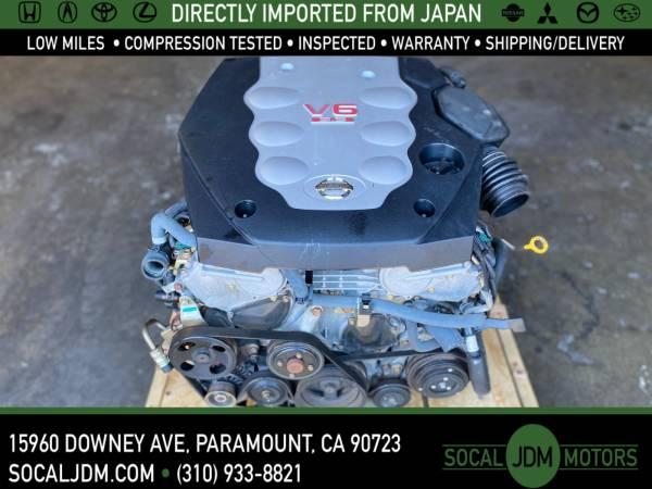 Photo JDM 2003 2004 2005 NISSAN 350Z INFINITI G35 VQ35 VQ35DE MOTOR ENGINE - $1,250 (Paramount)
