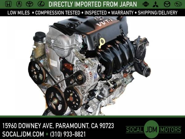 Photo JDM 2003 - 06 SCION XA XB 2000 - 05 TOYOTA YARIS ECHO 1NZ MOTOR ENGINE - $699 (Paramount)
