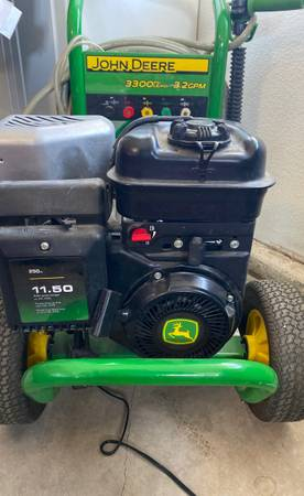 Photo John Deer 3300 Pressure Washer - $300 (Bakersfield)