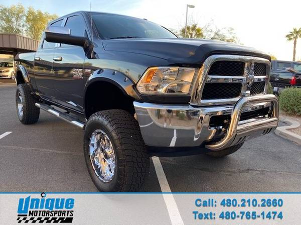 Photo LIFTED 2015 RAM 2500 SLT CREW CAB 4X4 SHORTBED 5.7 LITER HEMI W6-SP - $37,995 (DELIVERED RIGHT TO YOU NO OBLIGATION)