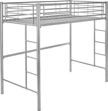 Photo NEW - Twin Loft Bunk Bed Silver - $200 (Bakersfield)