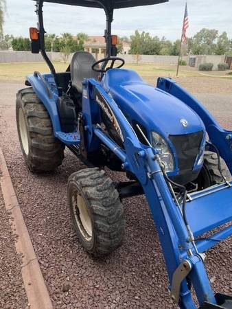 Photo New Holland TC-45 Tractor (Call Us About Our Lay-A-Way Program Today)