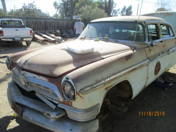 Photo PARTING OUT 2 1955 CHRYSLER NEW YORKER 4DRS NO ENGTRNS GOOD PARTS - $1 (MARICOPA)