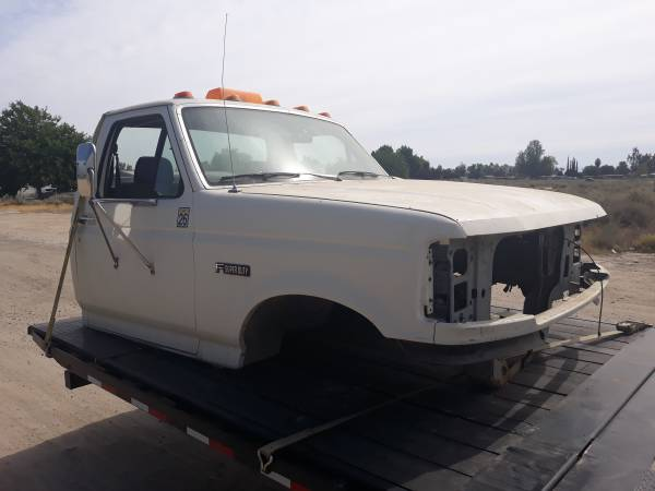 Photo Parts - 1980 to 1998 F250 F350 Ford Super Duty Cab POWERSTROKE (Bakersfield)