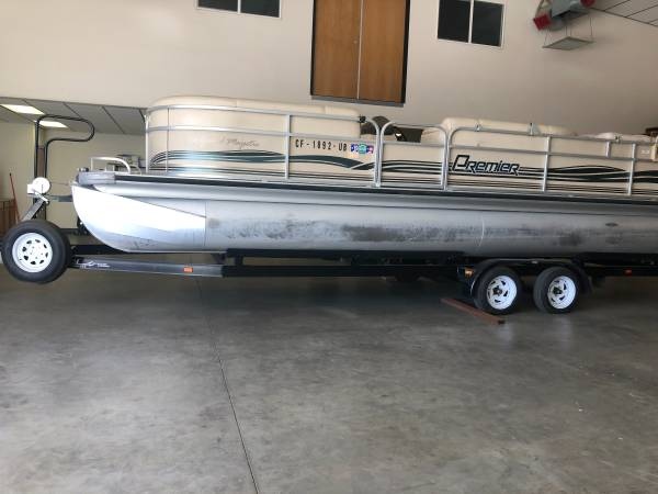 Photo Pontoon Boat For Sale - $21,000 (Bakersfield)