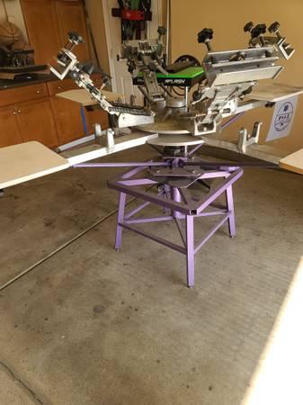 Photo Screen printing press - $750 (Delano)