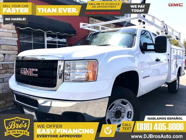 Photo This 2013 GMC Sierra 2500HD Work Truck Pickup is PRICED TO SELL - $22,495 (8846 SEPULVEDA BLVD A NORTH HILLS CA, 91343)