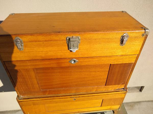 Photo Vintage Gerstner and Sons Machinist tool Chest  Box - $475 (Tulare)