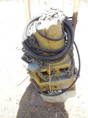 Photo Winch - 1 ton electric - $350 (Tehachapi, Ca)