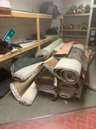 Photo 12 ft wide rolls of carpet - $50 (laurel)