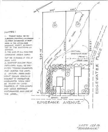 Photo 1.67 Acre Lot in Dundalk Approved for 2 New Water View Homes (12  13 Rosebank Ave)