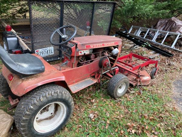 Photo 1974 Wheel Horse Garden Tractor - $500 (Highland)