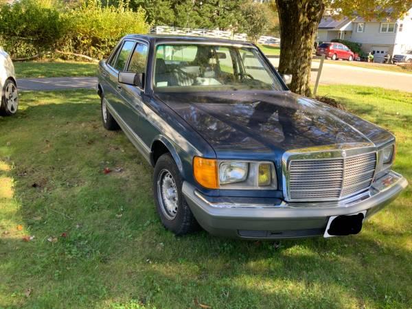 Photo 1986 Mercedes Benz 380 SEL ORIGINAL OWNER - $5,000