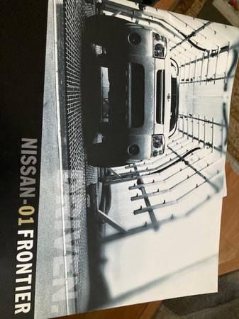 Photo 2001 Nissan Frontier sales brochure - $15 (Bel Air, Md)