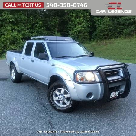 Photo 2003 Nissan Frontier CREW CAB PICKUP 4-DR - $9995 (_Nissan_ _Frontier_ _Truck_)