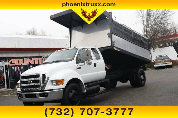 Photo 2011 FORD F-650 F650 F 650 XLT 4DR 2WD LANDSCAPE DUMP BED BODY - $47999 (cnj)