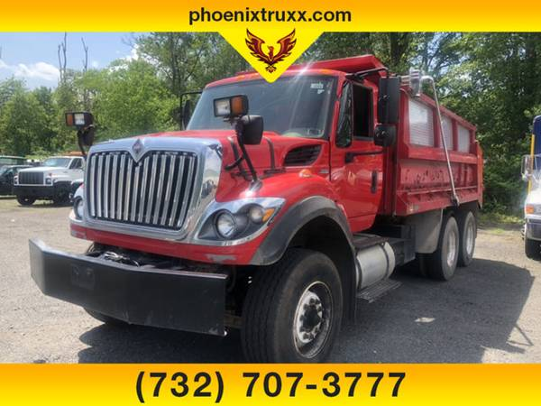 Photo 2011 INTERNATIONAL TAMDEM DT466 Regular Cab DIESEL 14FT DUMP TRUCKc - $49999 (cnj)