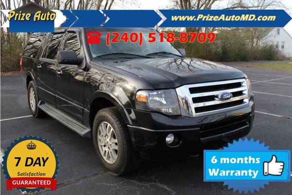 Photo 2012 Ford Expedition EL XLT Sport 4D WARRANTY FINANCING - $10874 ((240) 518-8709 Ford Expedition EL)