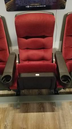 Photo 3 real movie theater seats in great shape - $300 (Pasadena)